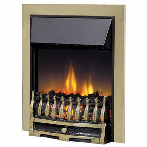 Dimplex Optiflame Wynford Antique Brass Inset Fire