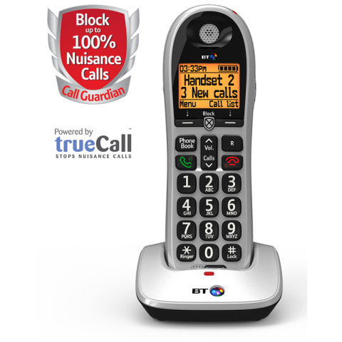 BT (84665) BT4600 Call Guardian Advanced Nuisance Call Blocker - Single Digital Phone