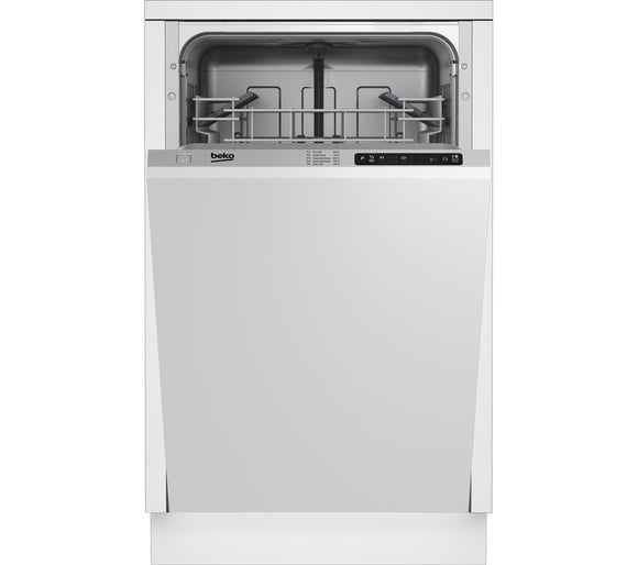 Beko (DIS15010) 10 Place Settings Integrated Slimline Dishwasher