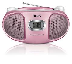 Philips AZ105C/05 CD/Radio Pink
