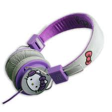 Hello Kitty Folding Over-Ear Headphones
