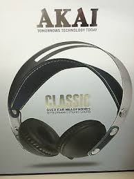 Akai - Classic On- Ear Headphones