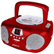 Groove Boom Box CD & Radio 4 Colours