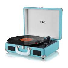 Akai - USB Turntable with Leather Case