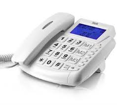 iTek Big Button LCD Telephone