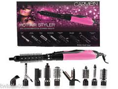 Carmen Hot Air Styler Set Pink