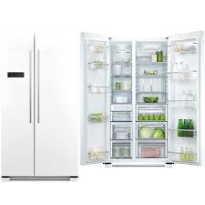 Fisher & Paykel (RX628DW1) 628L Side by Side American Style Fridge Freezer