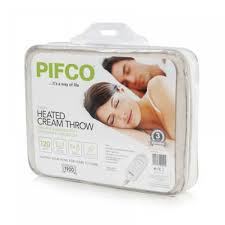 Pifco Luxury Heated Cream Throw