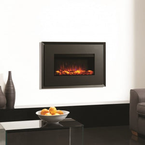 Gazco Riva2 670 Electric Evoke Steel Fire