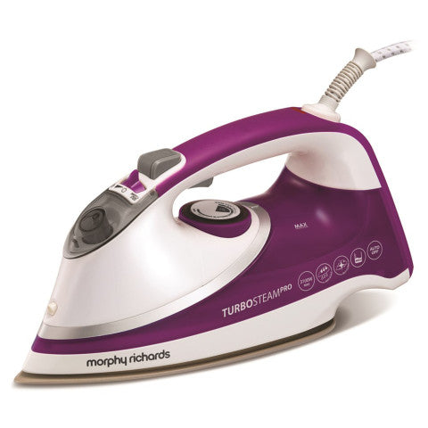 Morphy Richards (303126) Turbosteam Pro Pro Pearl Ceramic Steam Iron