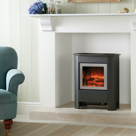 Gazco Steel Manhattan Small Electric Stove