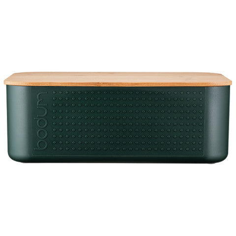 Bodum (11740946) Bistro Small Bread Box - Dark Green