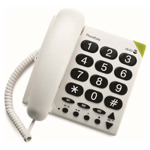 Doro (311) 311 PhoneEasy® Big Button Analogue Telephone