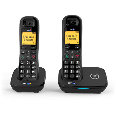 BT (86926) BT1200 Cordless Digital Telephone - Twin