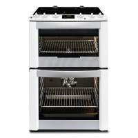 Electrolux Double Oven Electric Cooker With Ceramic Hob – White (EKC6461AOW)