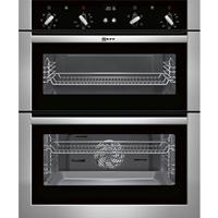 Neff (U17M42N5GB) Built Under Double Oven - Stainless Steel