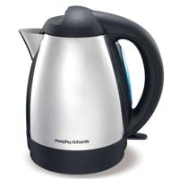 Morphy Richards Essentials (43027) Jug Kettle - Stainless Steel