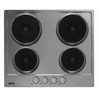 Zanussi (ZEE6940FXA) Rapid Zone Integrated 60Cm Electric Hob, Stainless Steel