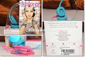 HedKandi Foldable Headphones