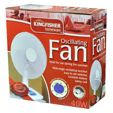 "Kingfisher 12"" Desk Fan"