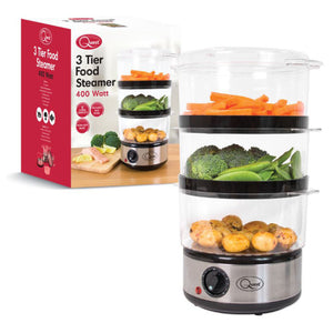 Quest (35220) 3 Tier Food Steamer