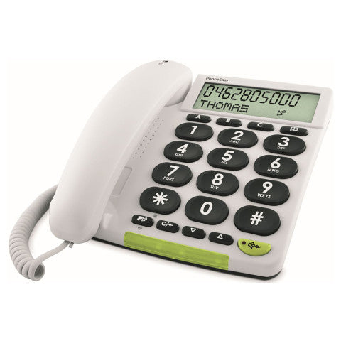 Doro (312C) 312C Big Button Analogue Telephone