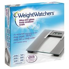 WeightWatchers Ultra Slim Glass Electronic Scales