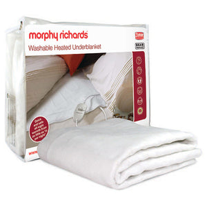 Morphy Richards (600112) Double Washable Heated Underblanket