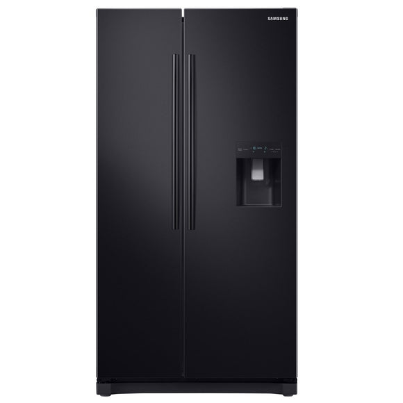 Samsung NoFrost Freestanding American Fridge Freezer - Black | RS68N8230B1