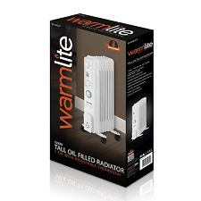 Warmlite 2000W Oil Filled Radiator White