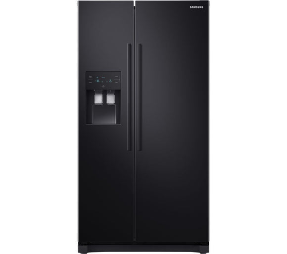 SAMSUNG RS3000 RS50N3513BC/EU American-Style Fridge Freezer - Black