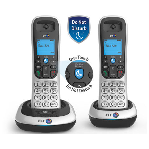 BT (82011) BT2100 Cordless Digital Telephone - Twin