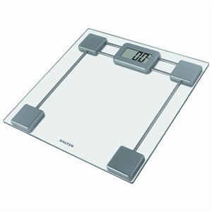 Salter (9082 SV3R) Glass Electronic Bathroom Scale