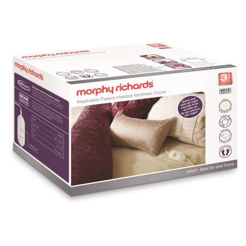 Morphy Richards (620013) King Dual Washable Fleece Heated Mattress Cover