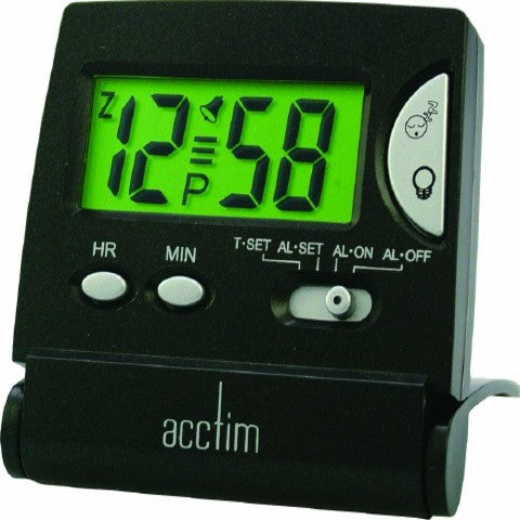 Acctim (13353) Mini LCD Flip Alarm Clock