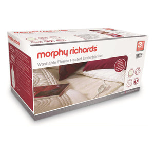 Morphy Richards (600013) Double Dual Washable Fleece Heated Underblanket