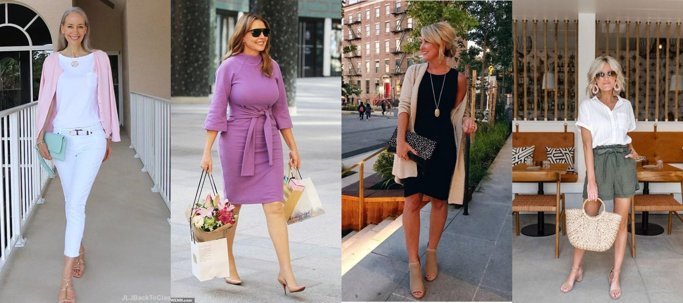 33 Summer Fashion Ideas for Women over 40 , Off The Closet