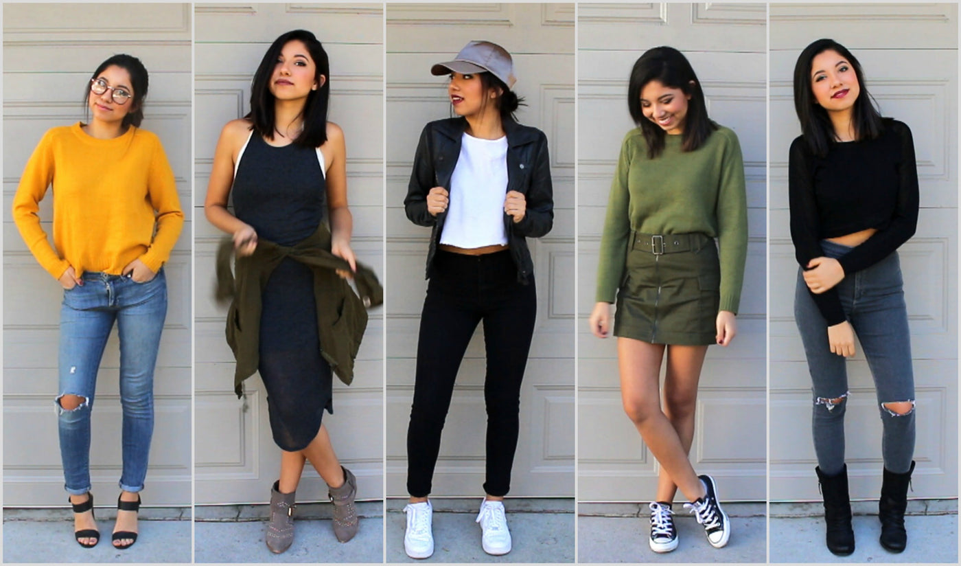 20 Cool Fall Outfit Ideas that you can put together in 60