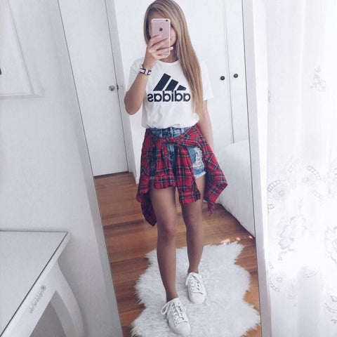 shorts and sneakers for fall