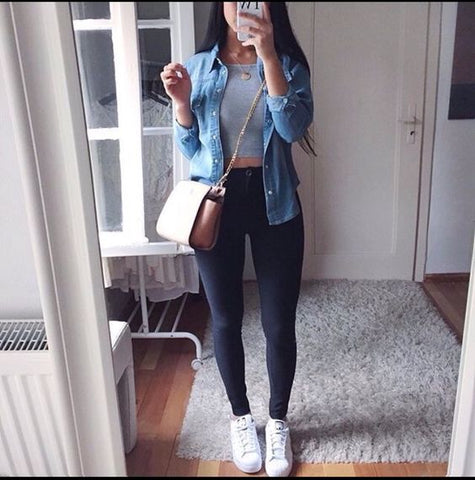 outfit styles for the autumn and school