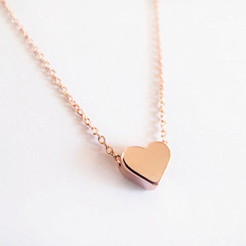 'Melanie' Dainty Heart Necklace