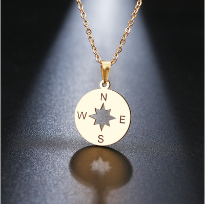compass direction necklace
