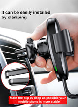 Load image into Gallery viewer, Qi Wireless Car Charger for IPhone Android