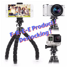 Load image into Gallery viewer, Mini Flexible Octopus Tripod For GoPro / Cellphone / Camera
