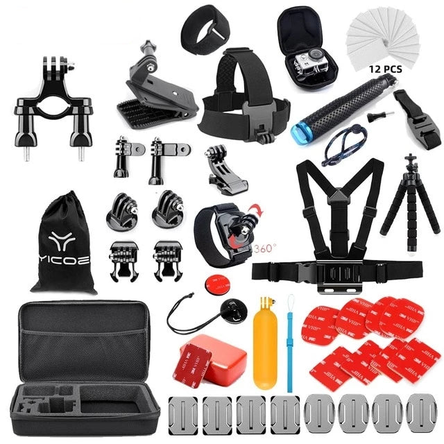 Sport Camera Gopro accessories 27 items kit