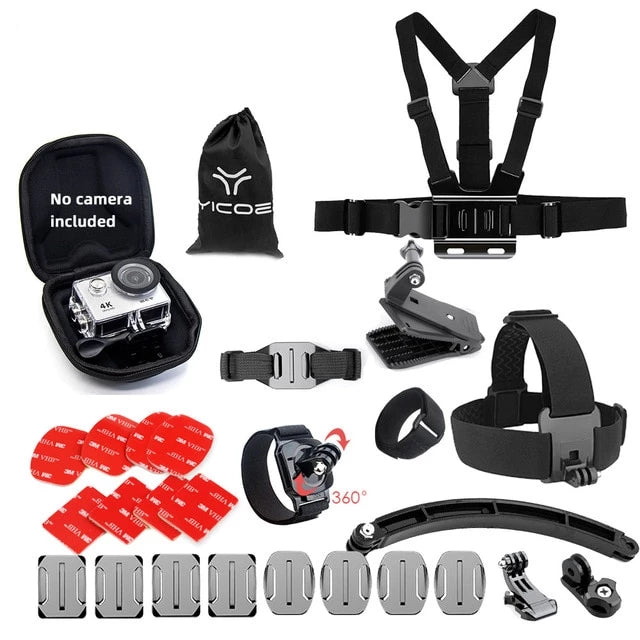 Sport Camera Gopro accessories basic chest helmet kit