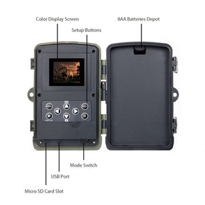 Hunting Trail Camera 1080P with Night Vision