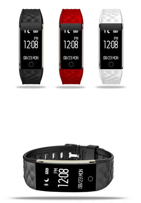 Smart Fitness tracker with OLED display