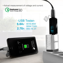 Load image into Gallery viewer, Chargeur USB multiple 3 ports compatible Quick Charge 3.0