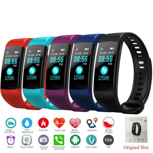 Smart Fitness tracker with color LCD display